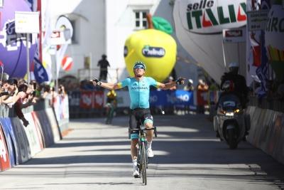 Ancora trionfo Astana con Luis Leon Sanchez al Tour of the Alps