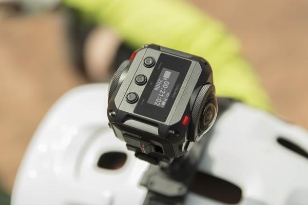 Virb 360: da Garmin la videocamera con GPS integrato in 4K per riprese a 360 gradi