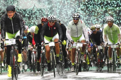 Oltre 1000 iscritti da 15 paesi a 100 giorni dalla partenza della Prosecco Cycling