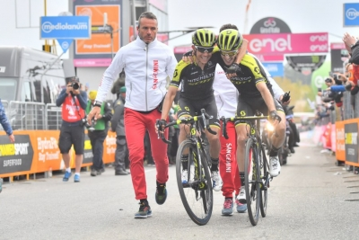 Doppietta Mitchelton - Scott alla sesta tappa del Giro d'Italia 101