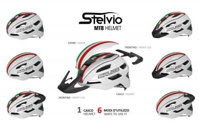 Stelvio, 1 casco e 6 configurazioni