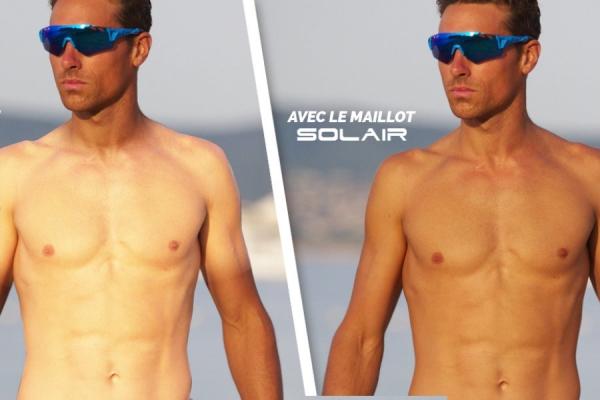 Solair, da Ekoï la maglia che aiuta a eliminare i segni dell'abbronzatura