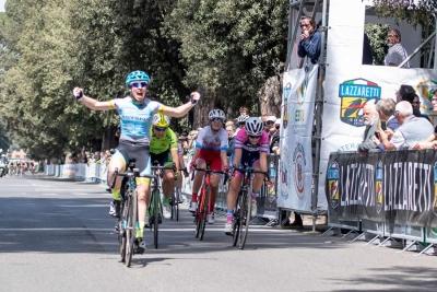Letizia Paternoster e Alessandro Fedeli dominano il GP della Liberazione