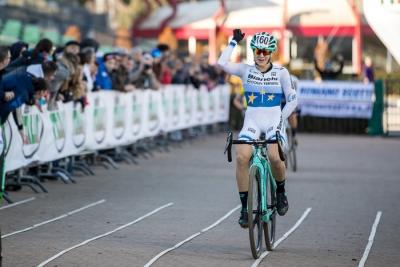 Ciclocross: Chiara Teocchi vince alle Capannelle nella Donne Under 23