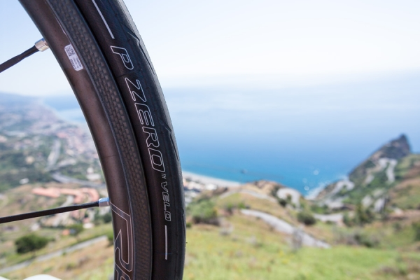 Pirelli PZero Velo, il pneumatico da bici diventa SMART