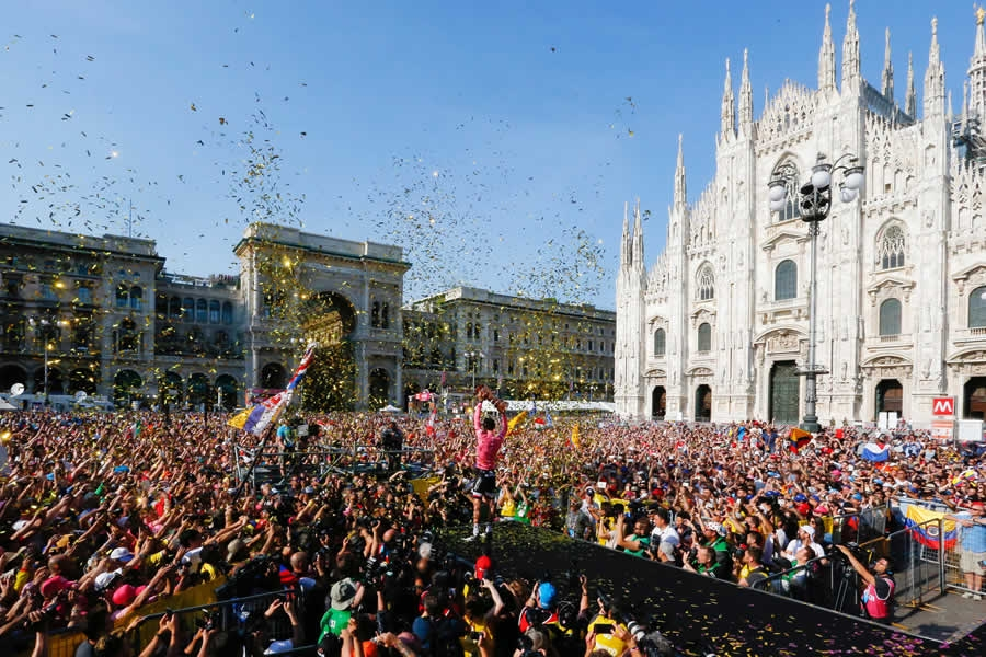 Giro d'Italia 2018 torna ad Ascoli. Appuntamento per il 15 maggio