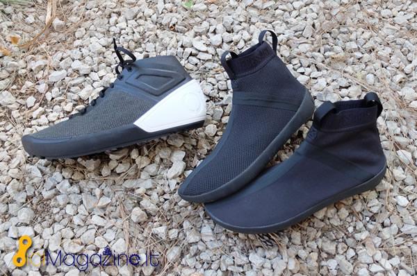 Le due anime delle scarpe FR-01 sono l LNR-BR-01 altamente traspirante e  l LNR-WR-01 più resistente alle condizioni atmosferiche e idrorepellente 3a94d077045
