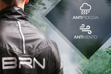 """Da BRN la nuova giacca """"Antipioggia & Antivento"""" per una massima protezione ed isolamento"""