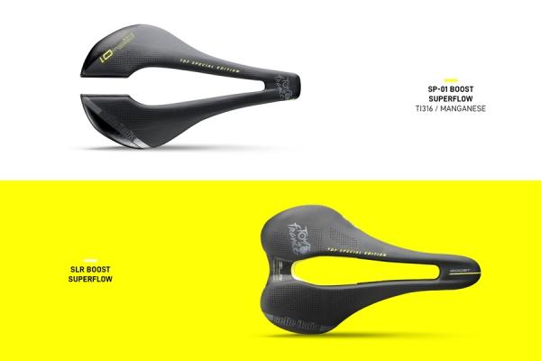 Tour De France, due selle in edizione limitata da Selle Italia