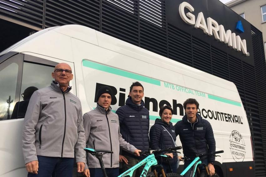 Garmin partner tecnico del Team Bianchi Countervail per il 2019