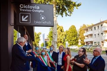 Bike me Hub: nasce la nuova porta sulla ciclopedonale Treviso-Ostiglia
