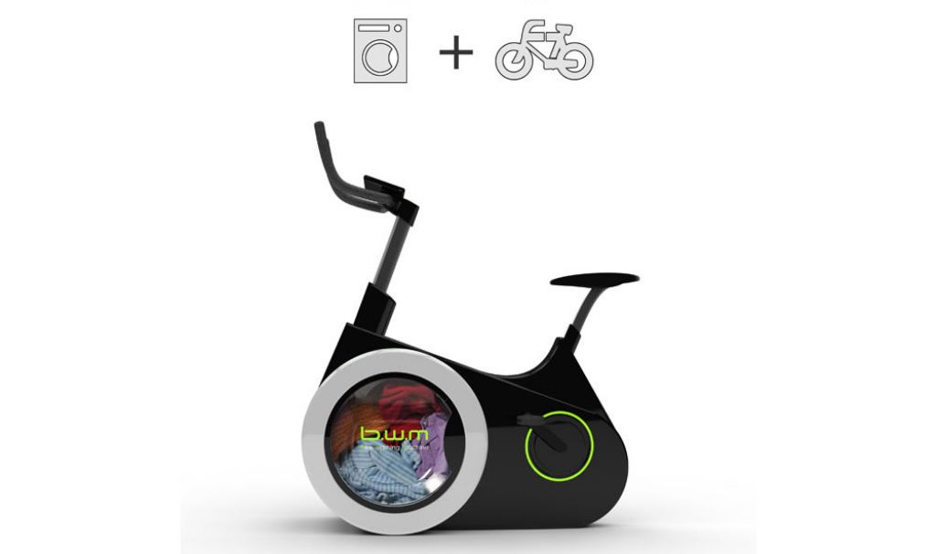 Bike Washing Machine: lavare pedalando