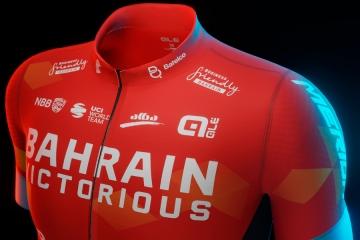 Anche il team Bahrain Victorious vestirà Alé nella stagione 2021
