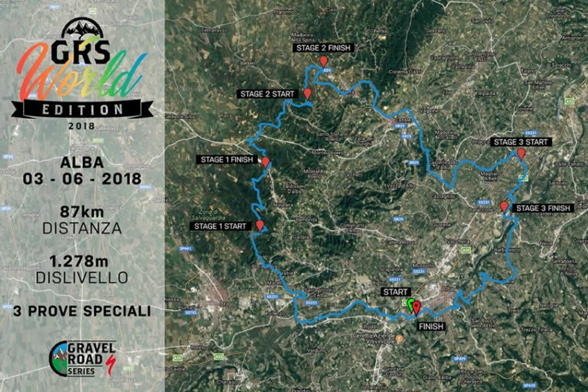 Gravel Series World Edition: Alba è  alle porte