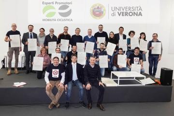 La promozione della bicicletta richiede competenze: a Verona si formano i prossimi esperti