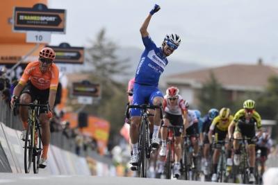Ad Alaphilippe la seconda tappa della Tirreno-Adriatico. Domani la terza tappa.