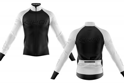 Versione limitata White & Black per la nuova giacca termica di Ekoi