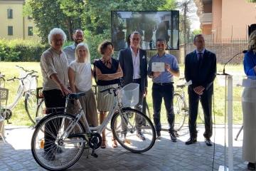 Da ANCMA 30 biciclette a Parma, vincitore dell'Urban Award 2020 per l'attenzione alla mobilità dolce