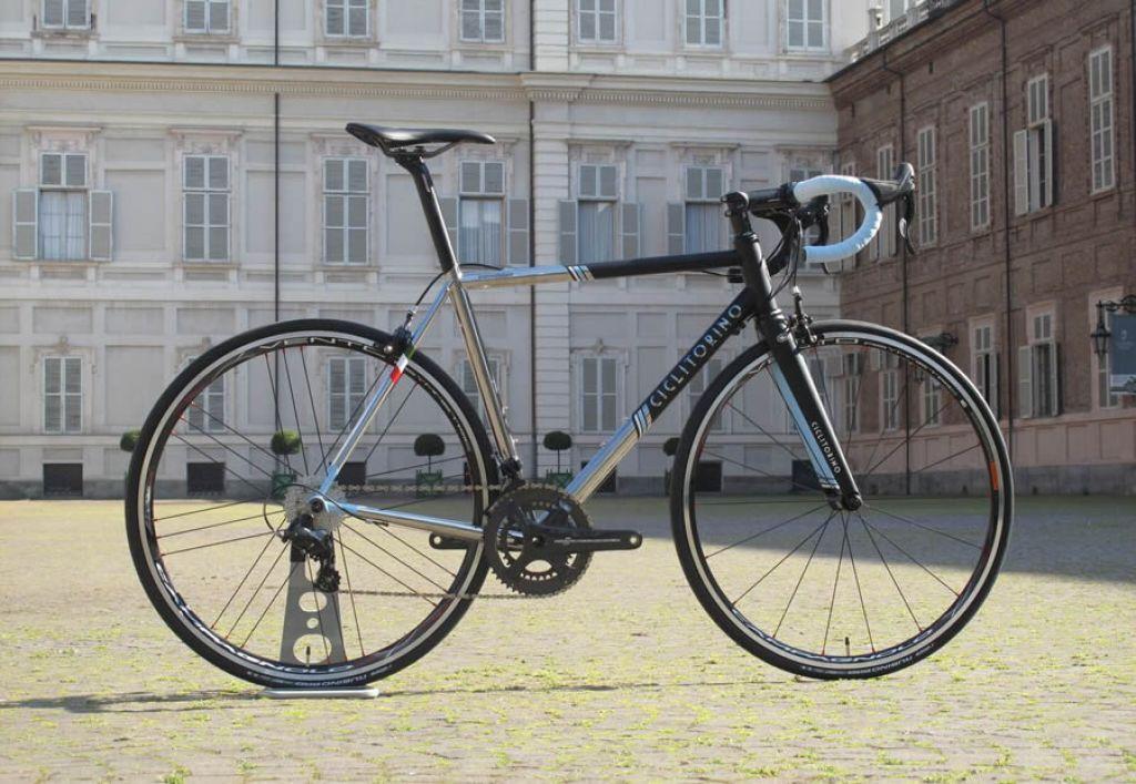 Inossidabile La Prima Bici Ciclitorino Realizzata In Acciaio Inox