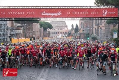 Aperte ufficialmente le iscrizioni alla Granfondo Campagnolo Roma