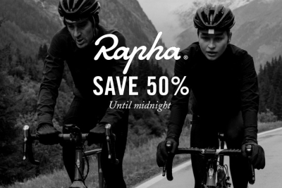 Anche per Rapha è tempo di Black Friday