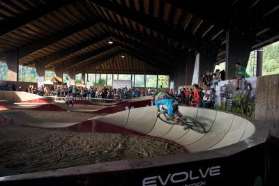 Evolve Pump Track, in Toscana la più grande pista al coperto sul territorio nazionale