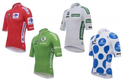 La Vuelta 2018: anche quest'anno Santini vestirà i suoi leader