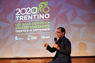 Europei di ciclismo su strada: presentata oggi a Trento l'edizione 2020