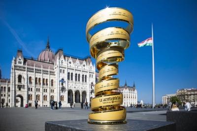 Giro d'Italia 2020, grande partenza da Budapest