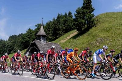 Santini Cycling Wear official partner del Tour de Suisse 2018