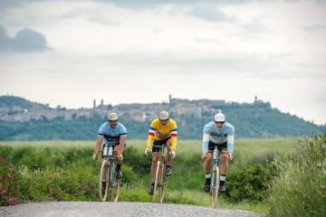 Cinque i percorsi a disposizione, da 153 a 27 chilometri per Eroica Montalcino 2020