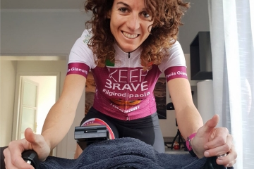 Paola Gianotti pronta a una nuova sfida solidale al fianco di Elastic Interface