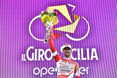 Vittoria di tappa e doppia maglia per Manuel Belletti a Il Giro di Sicilia