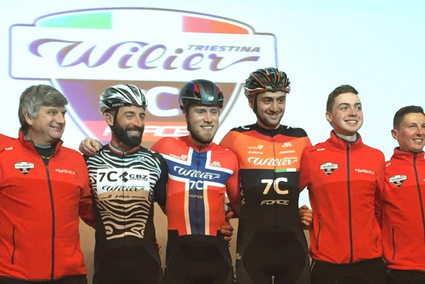 Wilier Force 7C, ecco la divisa 2019 by GSG Cycling Wear