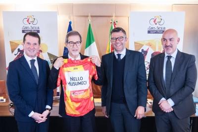 4 tappe e 708 km per Il Giro di Sicilia, presentato oggi a Palermo