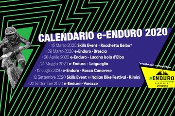 5 gare nazionali 2 tappe Skills Event per il circuito e-Enduro powered by Specialized 2020