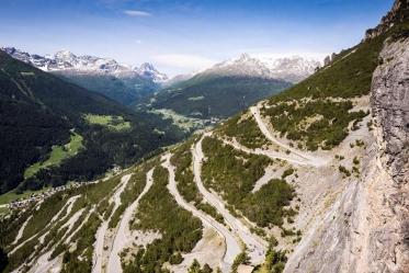 Granfondo Stelvio Santini, modifica al percorso causa neve