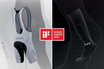 iF Design Award per il UYN con il Bib Alpha Biking a tecnologia di ventilazione Twinjet