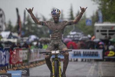 Il Campione d'Europa Forster è il Re di Titano XCO