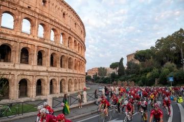 Tre mesi alla Granfondo Campagnolo Roma, presentato il nuovo Charity Program