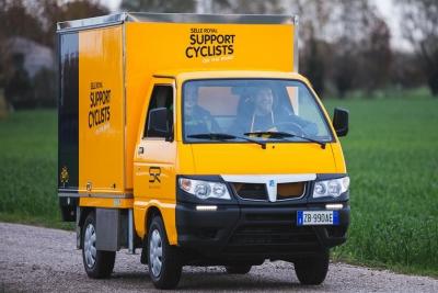 Selle Royal, un van itinerante per assistenza in tutta Europa