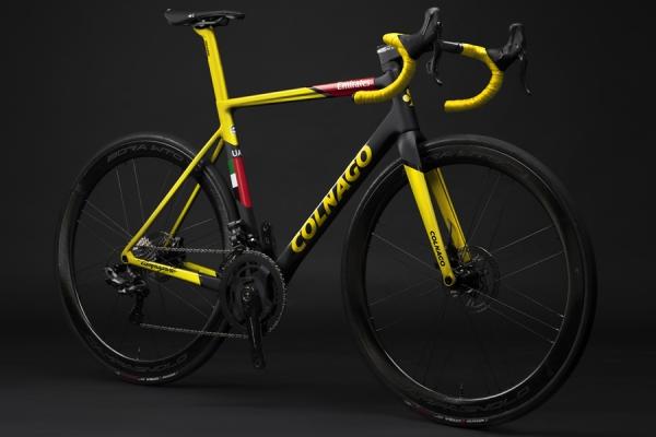 Ispirata ai successi di Tadej Pogačar al Tour de France la V3Rs Capsule Collection di Colnago
