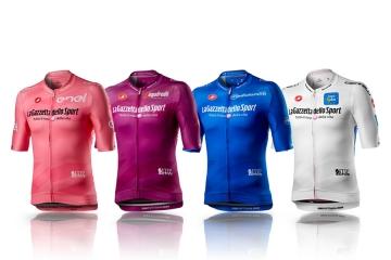 Maglie in tessuti Eco-sostenibili per il Giro d'Italia 103