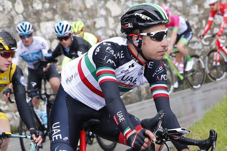 Anche Fabio Aru al Tour of the Alps