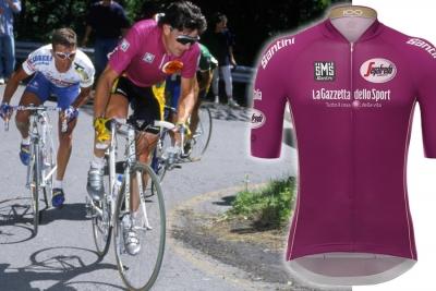 Giro 100: torna la mitica maglia ciclamino