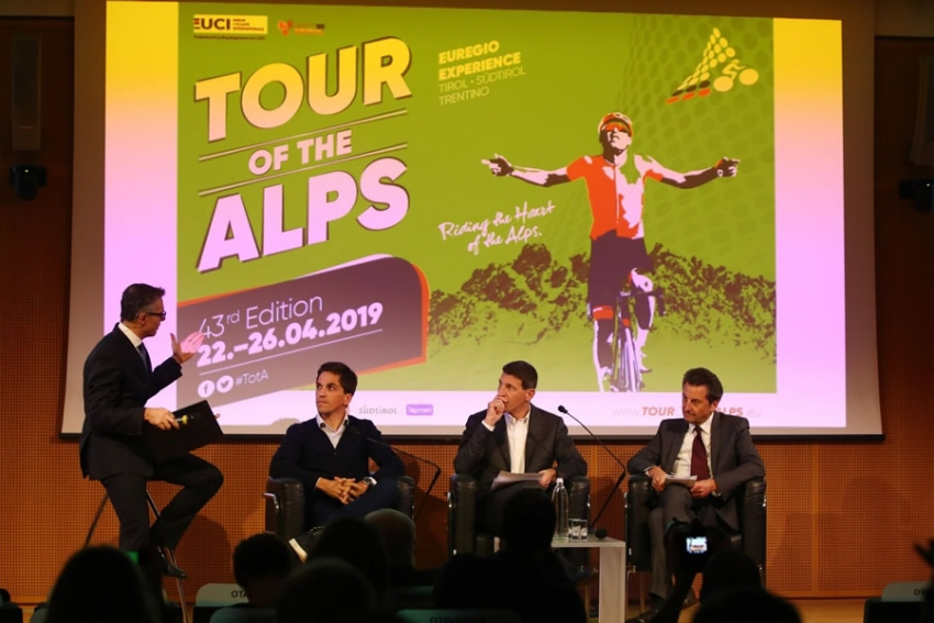 Tour of the Alps: presentata la 43a edizione. 5 le tappe