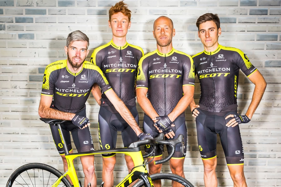ASG Bike Science bike fitter ufficiale del World Tour Team Mitchelton-SCOTT