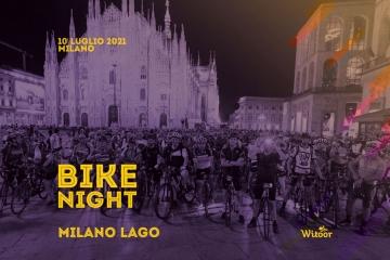 Sabato 10 luglio: torna la Bike Night Milano - Lago Maggiore
