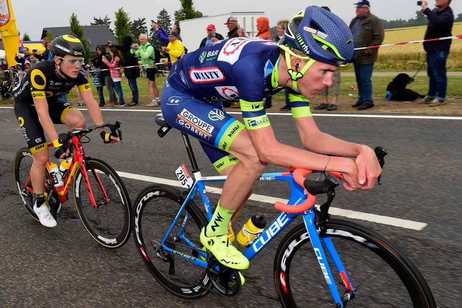 Yoann Offredo del team Team Wanty-Groupe Gobert  - @PhotoNews