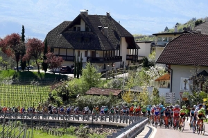 Un immagine dal Tour of the Alps 2018